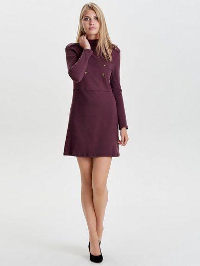Only Detailreiches Kleid mit langen Ärmeln