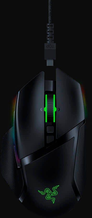 RAZER »Basilisk Ultimate + Mouse Dock« Maus (kabellos)