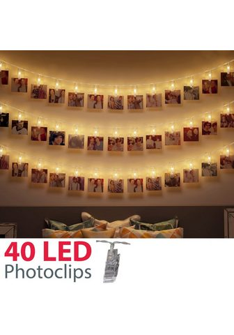 B.K.Licht LED-Lichterkette »Rana« 40-flammig 5m ...
