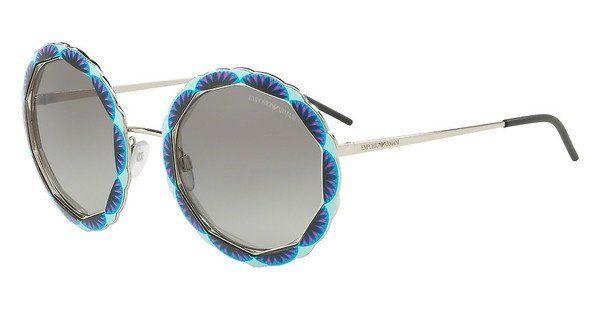 Emporio Armani Damen Sonnenbrille » EA2054«, rosa, 31678E - rosa/grün