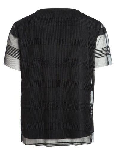Pieces Mesh- T-Shirt