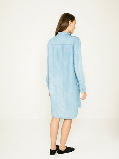 Pieces Denim- Kleid