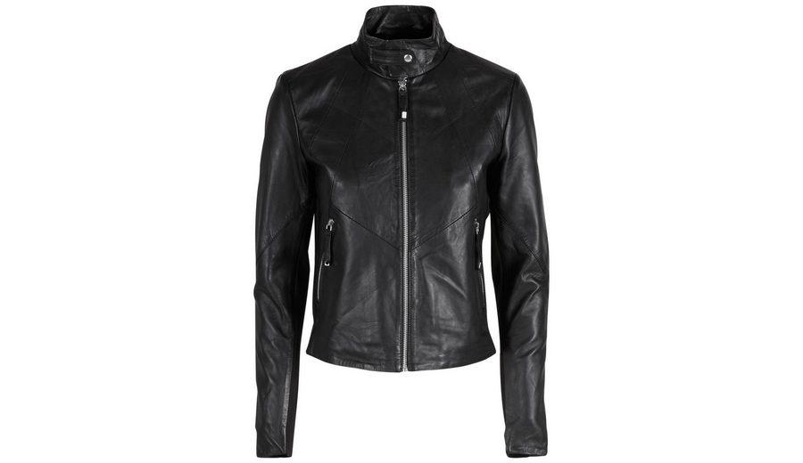 Y.A.S Lammglattleder-High-Neck- Jacke Extrem Verkauf Online Billig Manchester Auslass Wahl Online Kaufen MRIHyP