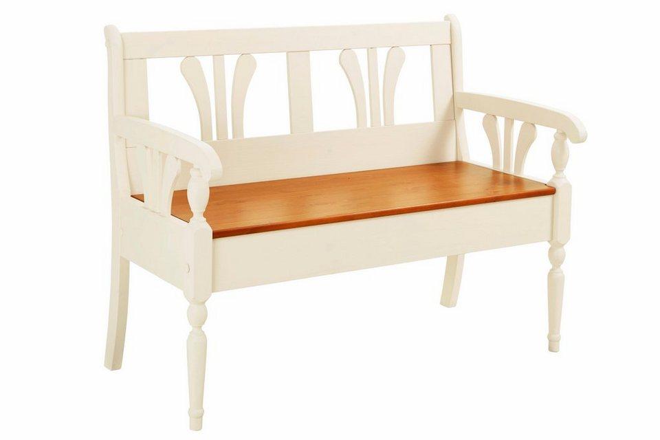 heine home bank mit stauraum online kaufen otto. Black Bedroom Furniture Sets. Home Design Ideas