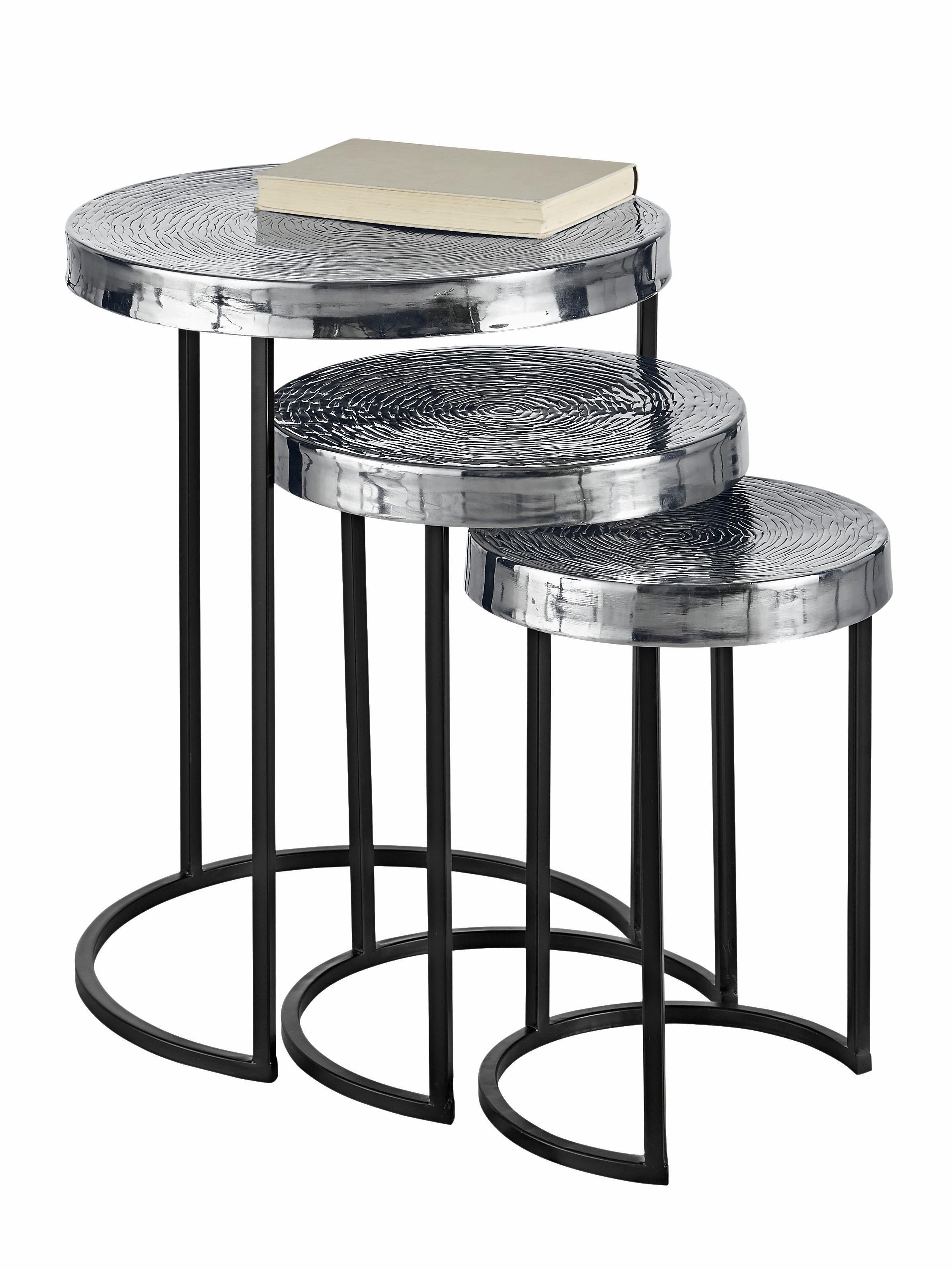 gepraegte beistelltische online kaufen m bel. Black Bedroom Furniture Sets. Home Design Ideas