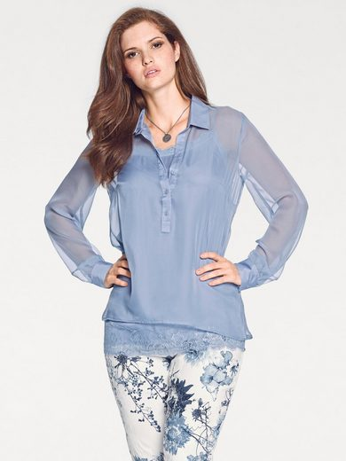 ASHLEY BROOKE by Heine Bluse mit passendem Top