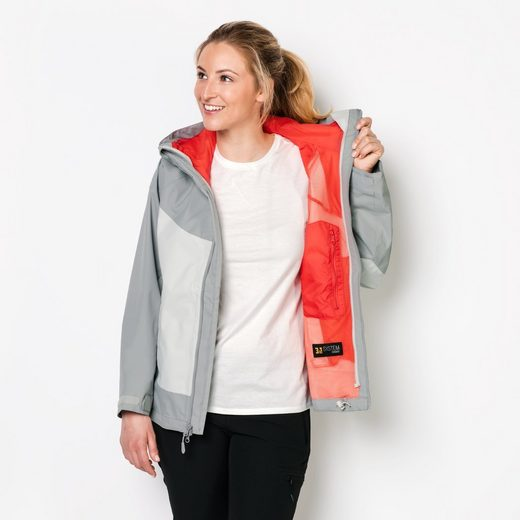 Jack Wolfskin Outdoorjacke NORTH RIDGE WOMEN