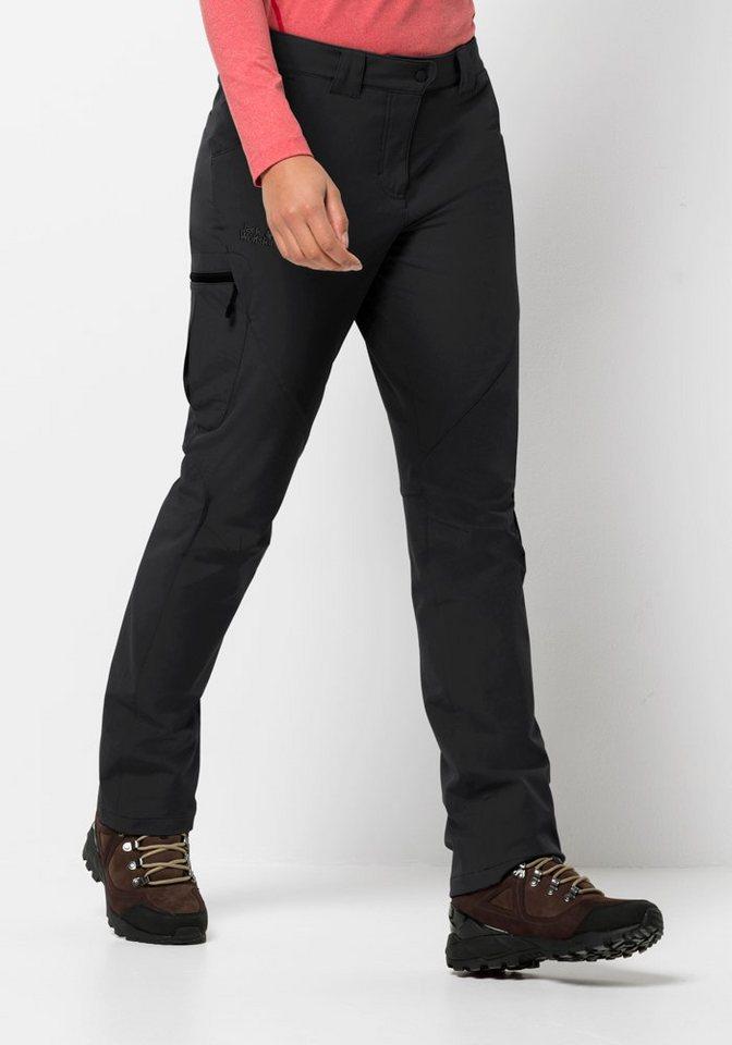 Jack Wolfskin Softshellhose »CHILLY TRACK XT PANTS WOMEN«   Sportbekleidung > Sporthosen > Softshellhosen   Schwarz   Jack Wolfskin