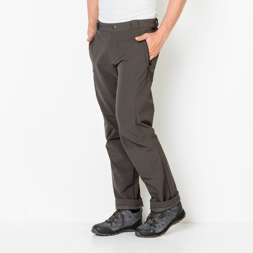Jack Wolfskin Softshellhose ACTIVATE THERMIC PANTS MEN