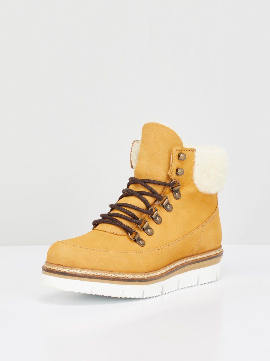 Bianco Rutschhemmende, warme Stiefel online kaufen  Mustard