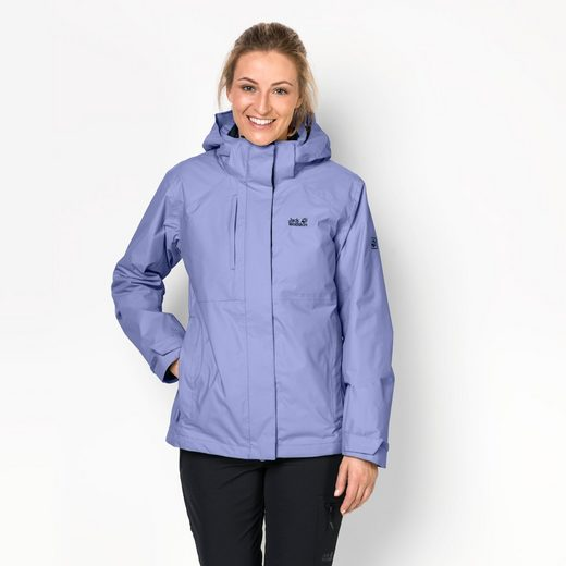 Jack Wolfskin 3-in-1-Funktionsjacke ECHO PASS WOMEN