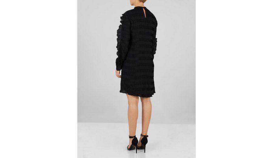 Y.A.S Volant- Kleid mit langen Ärmeln Billig Verkauf Erhalten Authentisch iSkHVqJw