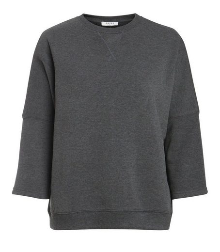 Pieces 3/4-ärmeliges Sweatshirt