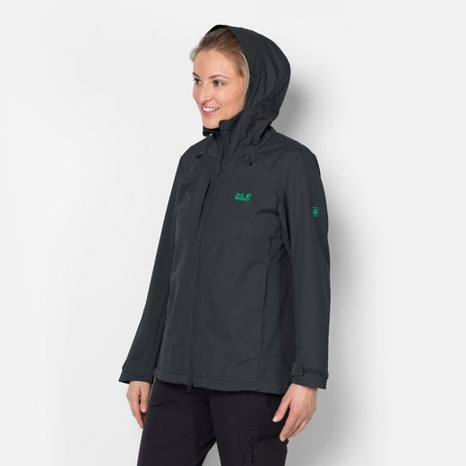 Jack Wolfskin Softshelljacke GRAVITY FLEX WOMEN