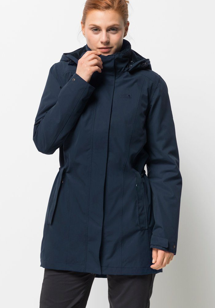 Jack Wolfskin Kurzmantel »MADISON AVENUE COAT« | OTTO