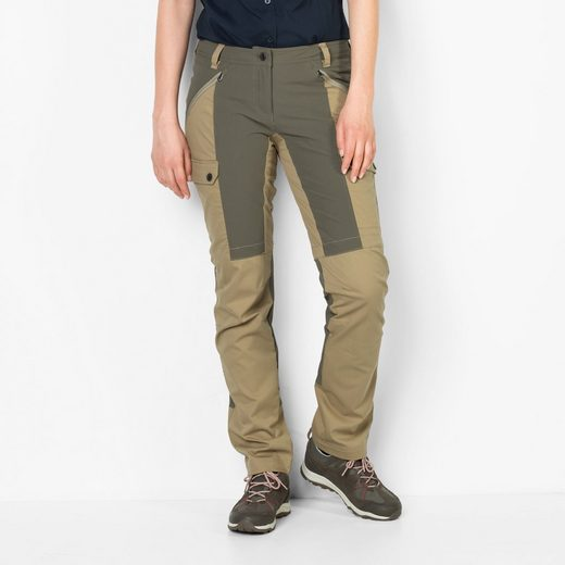 Jack Wolfskin Outdoorhose DAWSON FLEX PANTS WOMEN