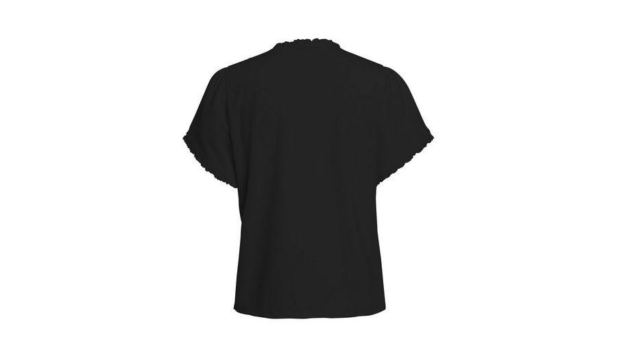 Pieces Rüschen- T-Shirt Empfehlen Zum Verkauf Billig Verkauf Ebay Rabatt-Outlet-Store Billig Verkauf Nicekicks TbKaf1WZAL