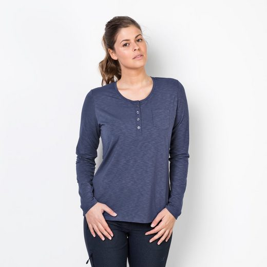 Jack Wolfskin Langarmshirt WINTER TRAVEL HENLEY WOMEN