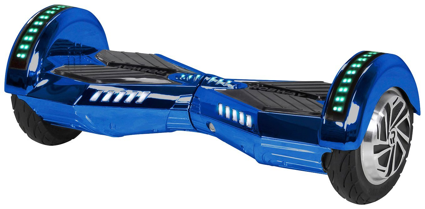 ROBWAY Hoverboard »W2«, CHROM EDITION 8 Zoll mit APP-Funktion
