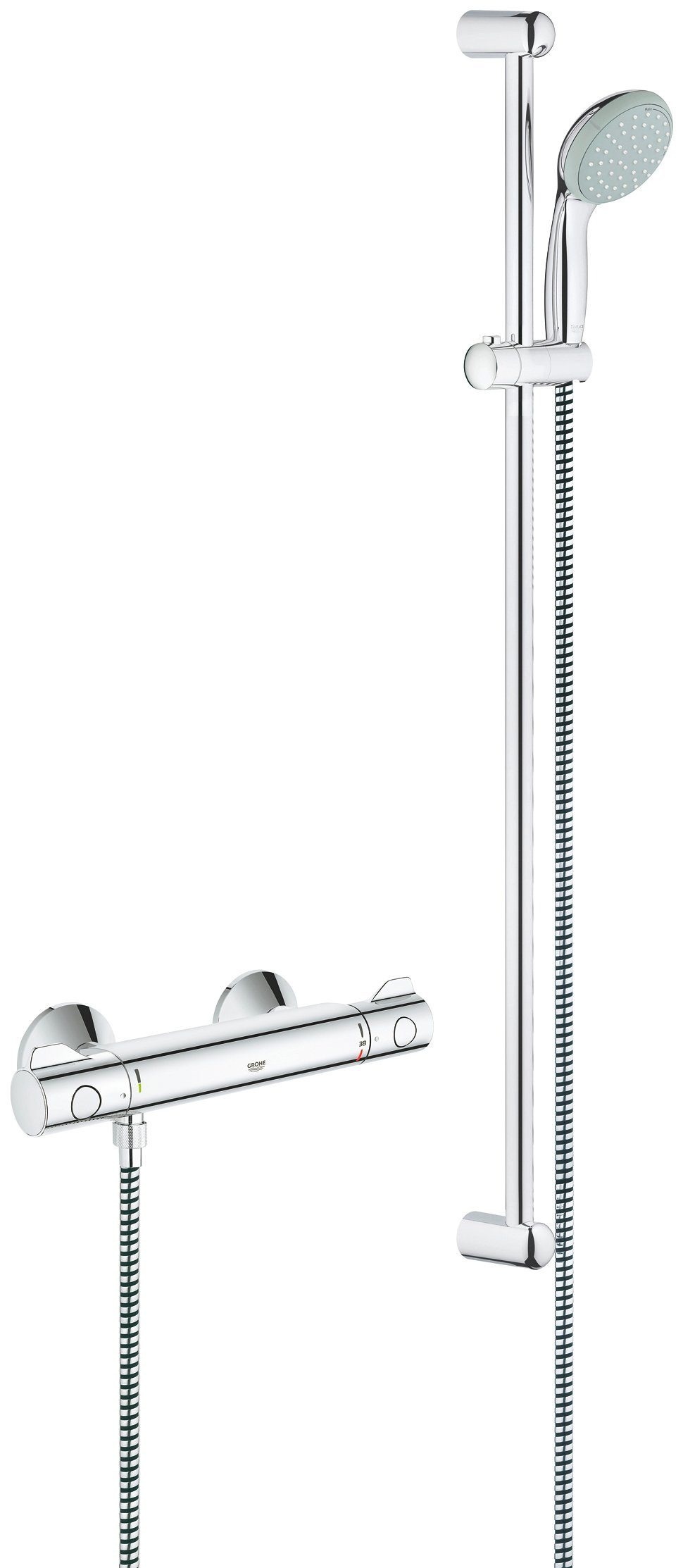 GROHE Brausegarnitur »Grotherm 800«, Inklusive Duschthermostat