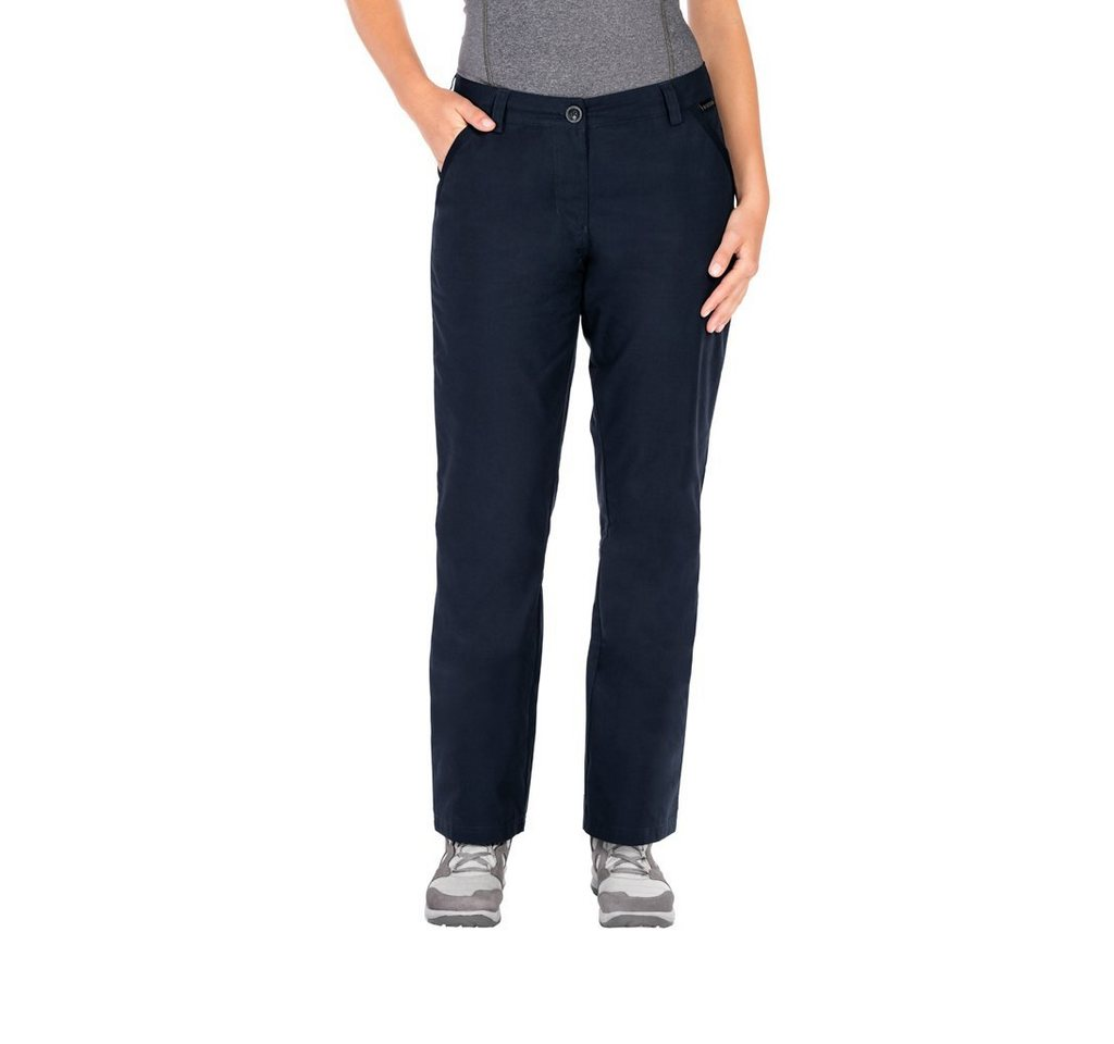 Jack Wolfskin Outdoorhose »ARCTIC ROAD PANTS WOMEN«   Bekleidung > Hosen > Outdoorhosen   Blau   Baumwolle   Jack Wolfskin