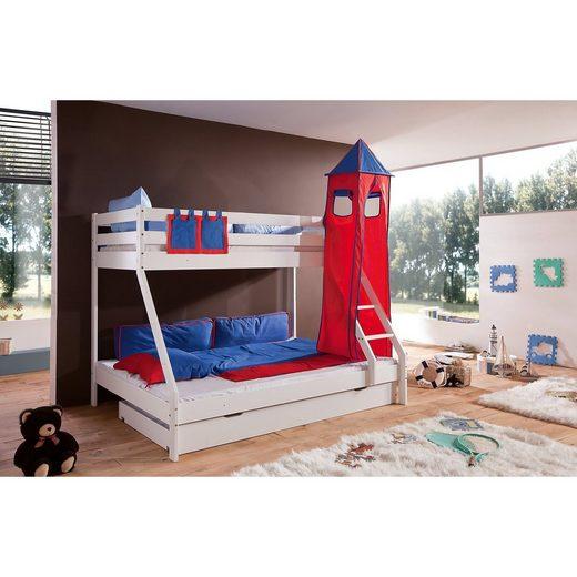 Relita Turmset groß für Spielbetten, blau/rot