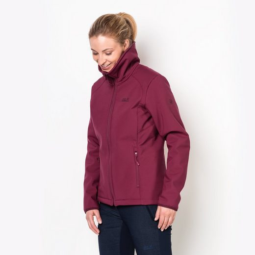 Jack Wolfskin Softshelljacke ROCK VALLEY WOMEN