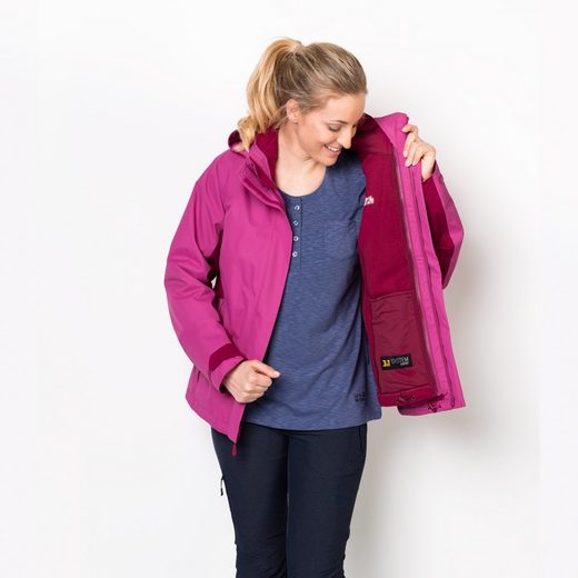 Jack Wolfskin 3-in-1-Funktionsjacke ICELAND VOYAGE 3IN1 WOMEN