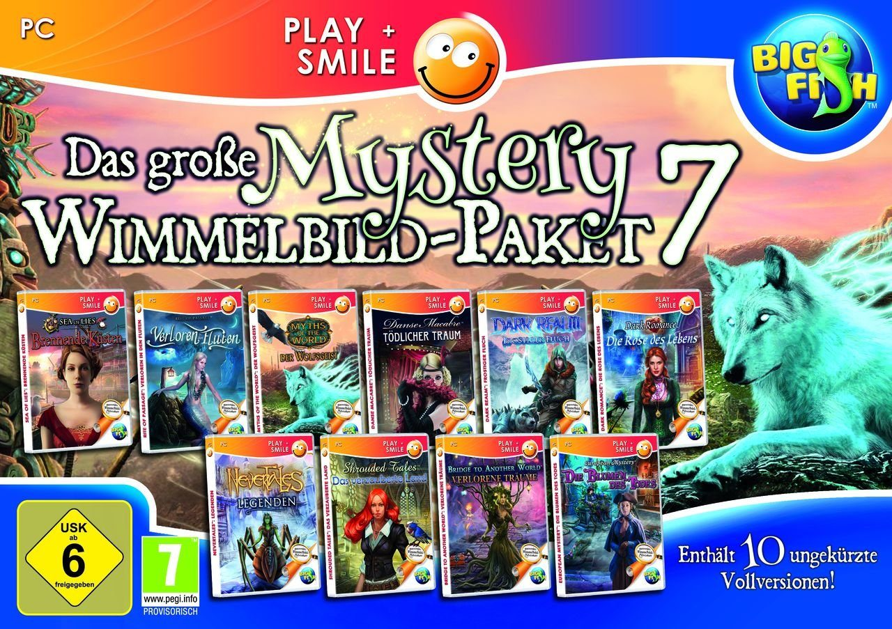 Astragon PC - Spiel »Das große Mystery Wimmelbild-Paket 7«