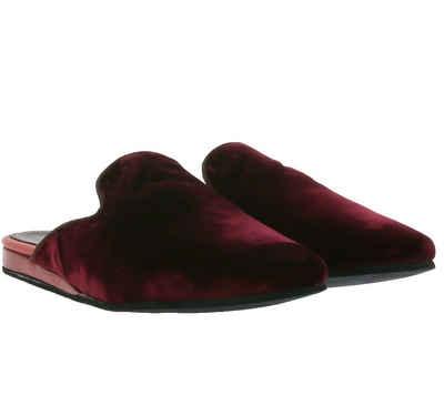Melvin & Hamilton »Melvin & Hamilton Scarlett 17 Pantoffeln gemütliche Damen Haus-Schuhe Latschen Bordeaux« Pantolette