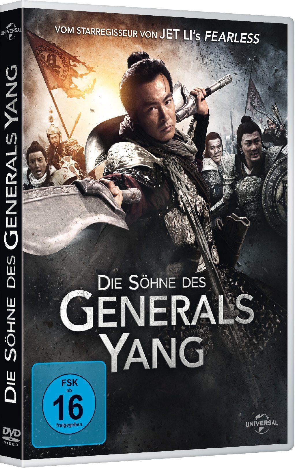 Universal Die Söhne des Generals Yang »DVD«