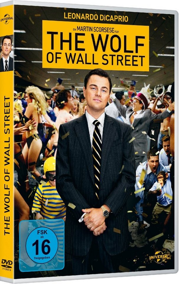 Universal The Wolf of Wall Street »DVD«