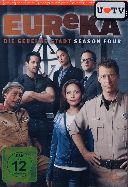 Universal EUReKA - Season 4 »DVD«