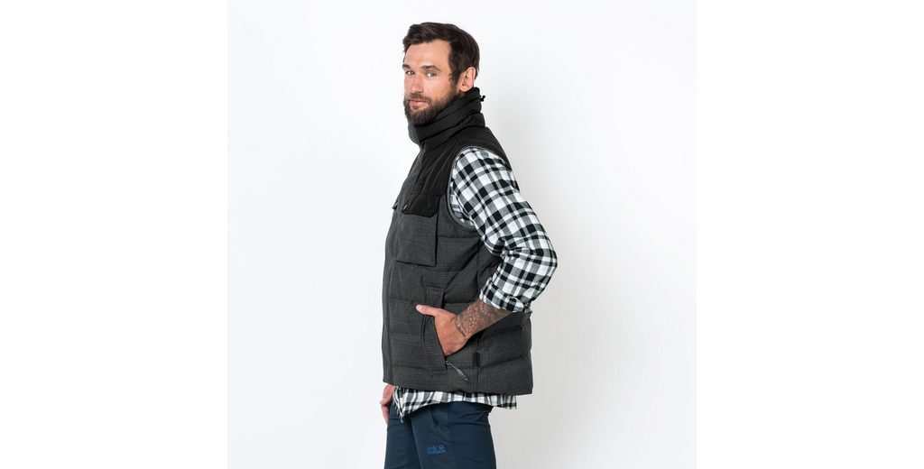 Freies Verschiffen Mode-Stil Jack Wolfskin Daunenweste BANFF SPRINGS VEST Amazon Günstiger Preis Online Kaufen Authentisch Billig 100% Garantiert tl4ODhDvn