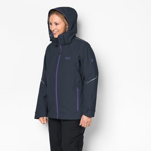 Jack Wolfskin 3-in-1-Funktionsjacke EXOLIGHT 3IN1 WOMEN