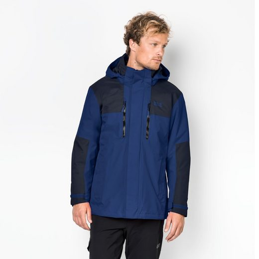 Jack Wolfskin 3-in-1-Funktionsjacke JASPER 3IN1 MEN