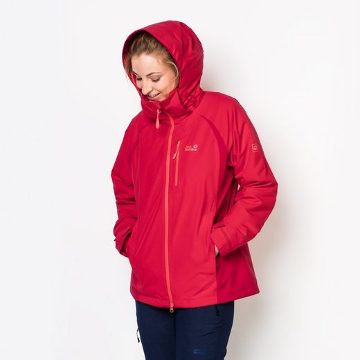 Jack Wolfskin 3-in-1-Funktionsjacke CASCADE PASS WOMEN