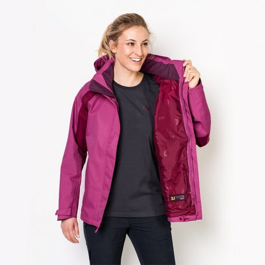 Jack Wolfskin Funktionsjacke THE ESMERALDAS