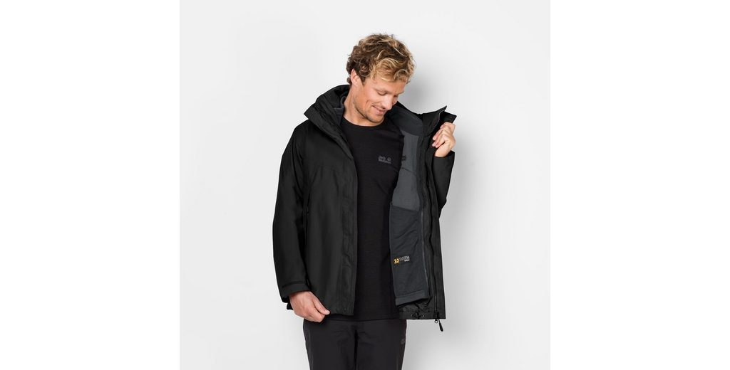 Auslass Sneakernews Footaction Günstiger Preis Jack Wolfskin 3-in-1-Funktionsjacke CASCADE MOUNTAIN Rwwt9Rxc