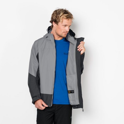 Jack Wolfskin 3-in-1-funktionsjacke Discovery Cove Men