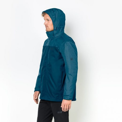 Jack Wolfskin 3-in-1-Funktionsjacke ECHO LAKE MEN
