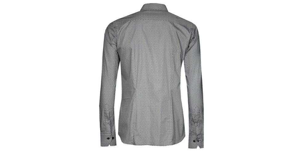 Signum ICON Hemd mit fein gezeichnetem Druck Spielraum Billig N0ZUy