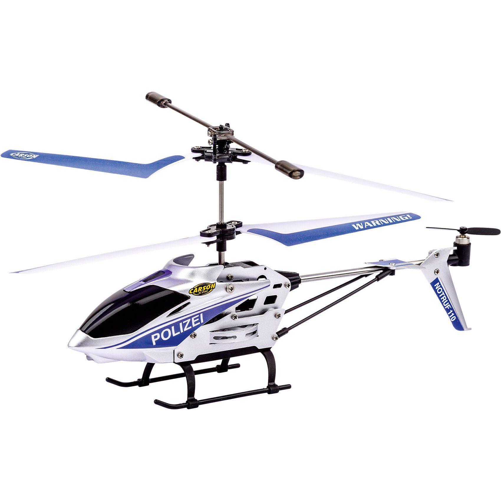 CARSON IR Helikopter Easy Tyrann Polizei