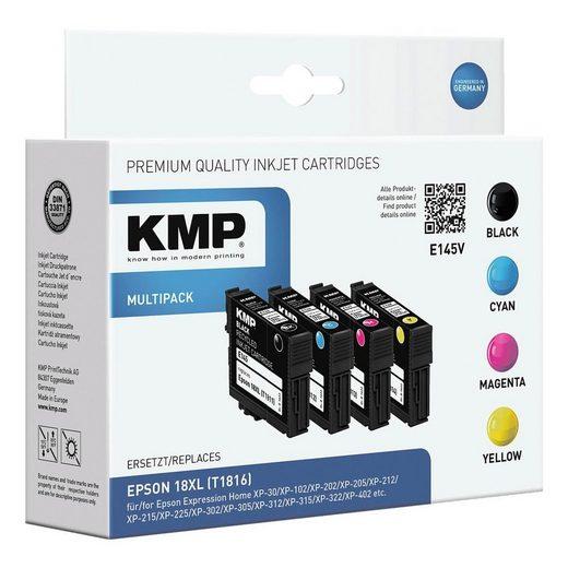 KMP Tintenpatronen-Set ersetzt Epson »T1816XL«