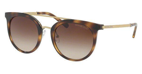 MICHAEL KORS Michael Kors Damen Sonnenbrille »ILA MK2056«, grau, 327525 - grau/blau