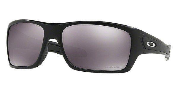 Oakley Herren Sonnenbrille »TURBINE OO9263«, schwarz, 926342 - schwarz/schwarz