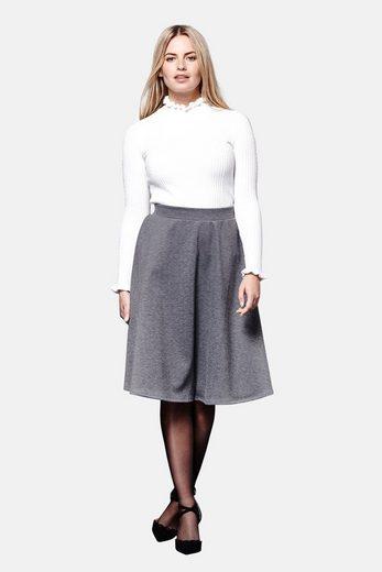 Yumi Pleated Skirt Demi, Waisted, With Fold