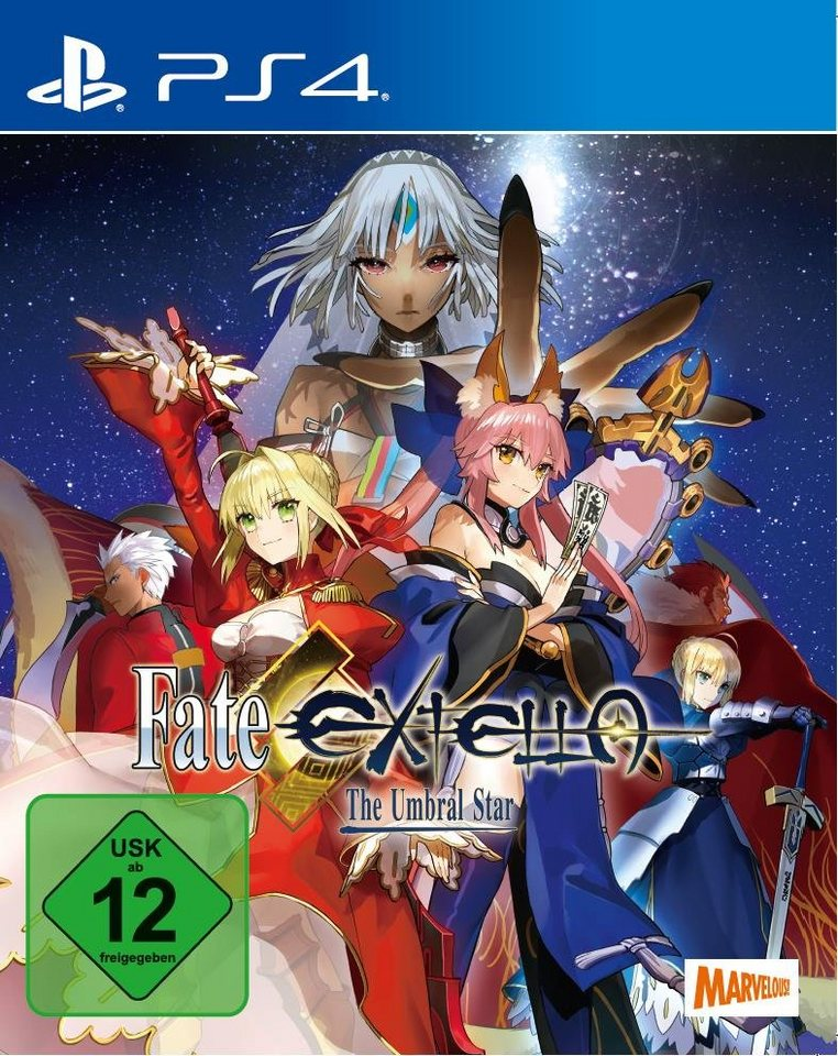pqube playstation 4 spiel fate extella the umbral star. Black Bedroom Furniture Sets. Home Design Ideas