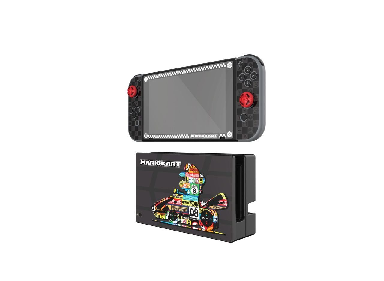 PDP Nintendo Switch - Zubehör »Nintendo Switch Play & Protect Skin - Mario Kart«