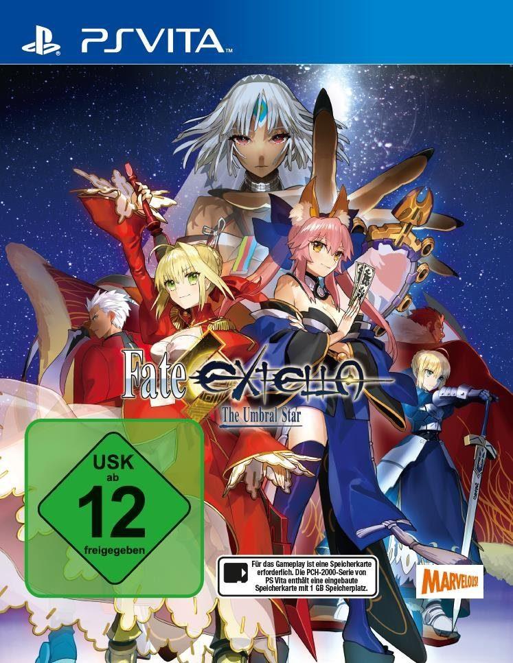 PQube Playstation Vita - Spiel »Fate/EXTELLA: The Umbral Star«